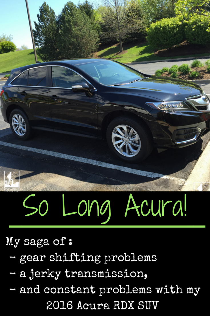 So Long My Jerking Acura Rdx Escaping The Midwest
